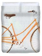 Bicycle Blues Duvet Cover