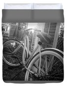 Bicycle In The Sun Duvet Cover