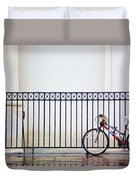 Bicycle New Orleans  Duvet Cover
