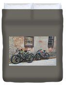 Bicycle Parking Duvet Cover
