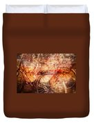 Bicycles In Amsterdam Duvet Cover by Richard Anderson
