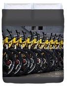 Bicyles Duvet Cover