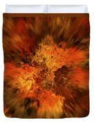 Big Band - Fiery Cloud Duvet Cover