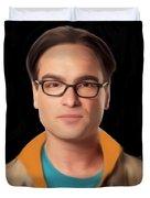 Big Bang Theory Leonard Duvet Cover