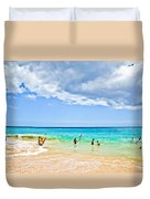Big Beach Duvet Cover