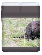 Big Beaver Duvet Cover
