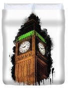 Big Ben In London Duvet Cover