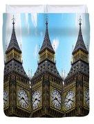 Big Ben Time Duvet Cover