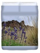 Big Bend Bluebonnets Duvet Cover