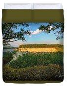 Big Bend Sunrise Letchworth Duvet Cover