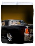 Big Black Lincoln Rag Top Duvet Cover