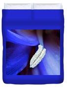 Big Blue Duvet Cover