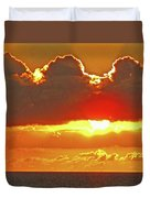 Big Bold Sunset Duvet Cover