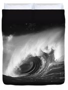 Big Breaking Wave - Bw Duvet Cover