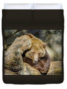 Big Brown Bear Duvet Cover