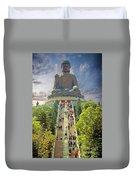 Big Buddha Duvet Cover
