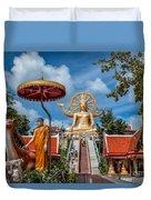 Big Buddha Temple Duvet Cover