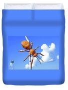 Big Bug Sculpture 1 Duvet Cover