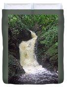 Big Burn Waterfall Duvet Cover