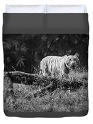 Big Cat In The Woods Duvet Cover