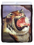 Big Cat Duvet Cover