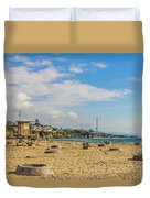 Big Corona Beach Duvet Cover