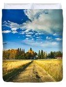 Big Creek Ranch Duvet Cover