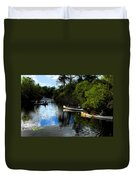 Big Cypress Outing Duvet Cover