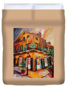 Big Easy Sunset Duvet Cover