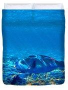Big Fish. Underwater World. Duvet Cover