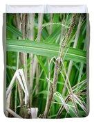 Big Grass Blade Duvet Cover