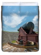 Big Gun Tracks Duvet Cover