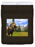 Big Horn 3 Duvet Cover