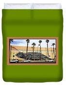 Big Lizard Duvet Cover