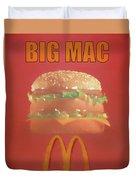 Big Mac Poster Duvet Cover