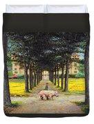 Big Pig - Pistoia -tuscany Duvet Cover