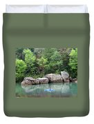 Big Piney Creek 1 Duvet Cover
