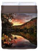 Big Piney Sunset Duvet Cover