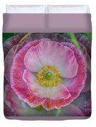 Big Poppy 4 Duvet Cover