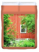 Big Red Barn Duvet Cover