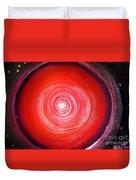 Big Red Star. Space Art Duvet Cover