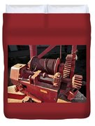 Big Red Winch Duvet Cover