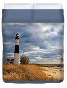 Big Sable Lighthouse #2 Duvet Cover