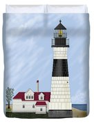 Big Sable Michigan Duvet Cover