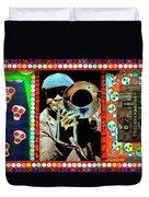 Big Sam's Voodoo Duvet Cover