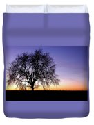 Big Sky - New Mexico Duvet Cover