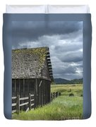Big Sky Cabin Duvet Cover