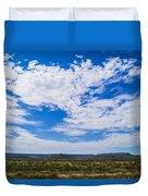 Big Sky In Pecos Valley Duvet Cover