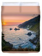 Big Sur Evening Duvet Cover