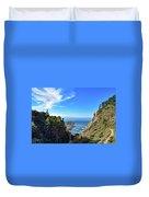 Big Sur Partington Cove Duvet Cover
